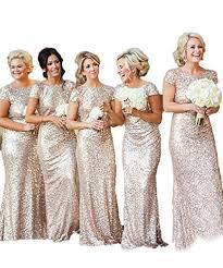 sequin bridesmaid dresses misshow sparkly gold sequins bridesmaid dress prom