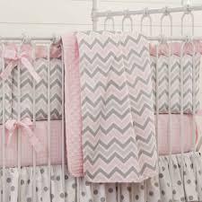 pink and grey bedding home crib bedding pink and gray chevron crib