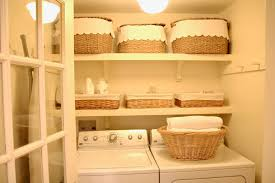 Laundry Room Basket Storage by Jenny Steffens Hobick Our Little Laundry Room Creative Tips For