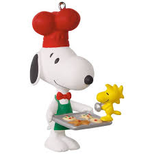 peanuts spotlight on snoopy baker snoopy ornament keepsake