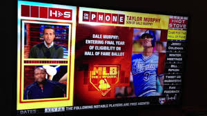 taylor murphy on mlb network talking about his dad dale murphy and