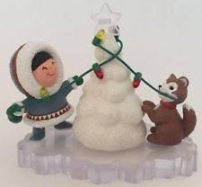 hallmark frosty friends ornaments ebay