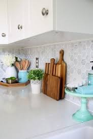 Kitchen Counter Decoration Fine Best Countertop Decor Within
