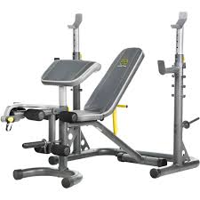 gold u0027s gym xrs 20 rack and bench strength training sports