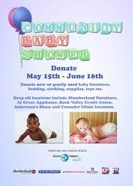 2nd baby shower 2017 community baby shower crusader community health