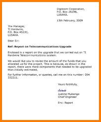 6 modified block format business letter sample joblettered