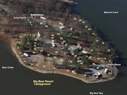 map ok ky rv cgrounds cgrounds big resort kentucky lake csites