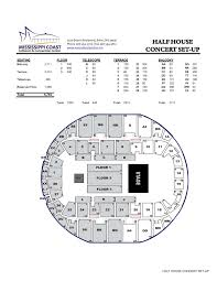 monster truck show biloxi ms arena seating capacities