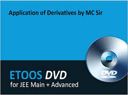 application of derivatives by mc sir dvd by etoos