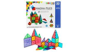 magna tiles black friday magna tiles 100 piece clear set groupon