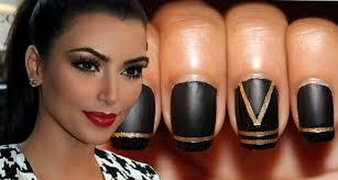 kim kardashian inspired nails collab w ellelearyartistry