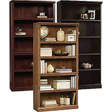 Mahogany Effect Bookcase Bookcases Bookshelves U0026 Display Unit Furniture Staples