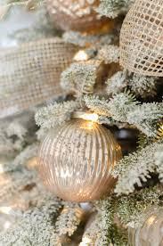 lightly flocked christmas tree a snowy flocked christmas tree a burst of beautiful