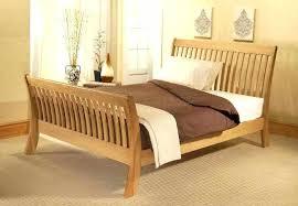 Solid Bed Frame King Wood Bed Frame King Ofor Me
