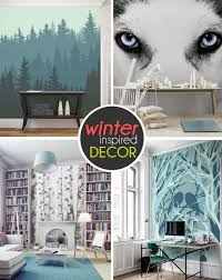 bathroom designs fancy deer winter wall murals above the beautiful wall decoration for wonderful bathroom ideas sleek wintery wall murals with beautiful choises and