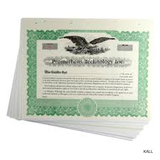Hole In One Certificate Template Imprinted Standard Legend Stock And Ownership Certificates