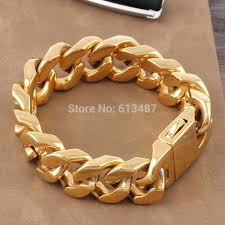 stainless steel gold plated bracelet images Hot sale new men s stainless steel rose gold rosary chain jpg
