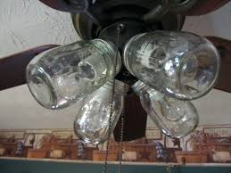 hunter mason jar ceiling fan light cover for ceiling fan ceiling fans ceiling fan light not