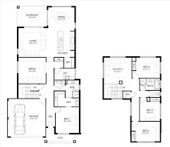 best 2 storey house designs and floor plans two ideas on pinterest