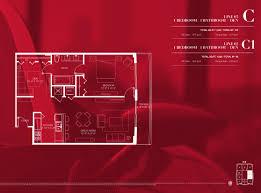 Floor Plans Com Floorplans 1100 Millecento Brickell Miami Residences 1100