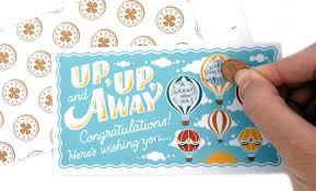 diy designs diy scratch off cards lucky you by leafcutter designs