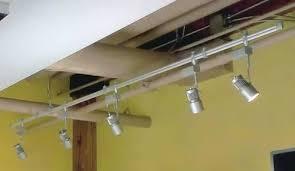 led monorail track lighting led track lighting systems led track lighting kits six light led