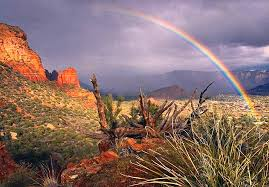Arizona landscapes images Rainbow landscape sedona arizona p photograph by carol nelissen jpg