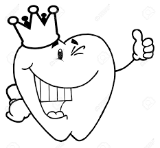 plain design tooth coloring page with regard to inspire color an