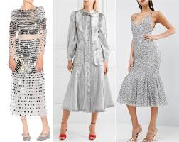 what color shoes to wear with silver dress u0026