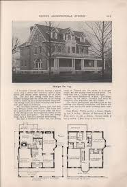 historic colonial floor plans 705 best historic house plans images on pinterest vintage house
