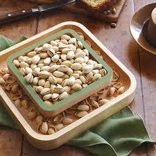 pistachio pedestal nut bowl shelled pistachios uncommongoods