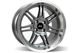 sve wheels mustang ford mustang sve dish anniversary wheel 17x10 anthracite
