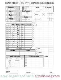 icu nurse report sheet templates nursing made easy pinterest