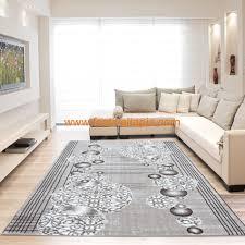 Salon Design Contemporain by Tapis Contemporain En Acrylique Marron Home Corsa 2 Pas Cher