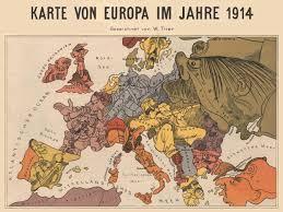 Europe Map Ww1 Map Of Europe 1940 Roundtripticket Me