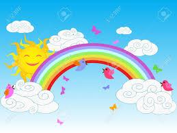rainbow sky images u0026 stock pictures royalty free rainbow sky
