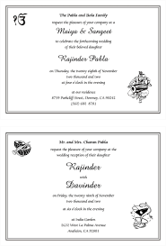 housewarming invitation wordings india sikh wedding invitation wordings