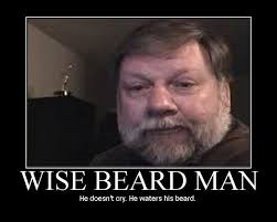 Memes About Beards - image 62167 mark bunker wise beard man know your meme