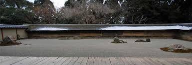 Ryoanji Rock Garden Ryoan Ji Temple In Kyoto