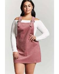 find the best deals on forever21 plus size corduroy overall dress