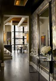 foyer mirrors large foyer mirrors with loft entry industrial and contemporary
