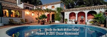 inside multi million dollar homes 2017 oscar nominees