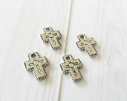 religious charms christian charms etsy