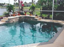 outdoor pool with landscaping how much does it cost to install a