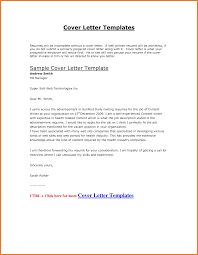 Examples Of Cover Letters For Resumes Free Cover Letter Template Free Word Pdf Documents Free Cv Cover