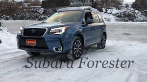 subaru suv forester 2017 subaru forester vs competition on the snow hill test youtube