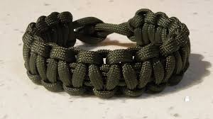 make paracord bracelet with buckle images One strand cobra weave paracord survival bracelet no buckle jpg