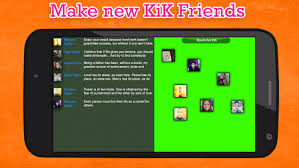 kik app free for android chat friend for kik android apps on play