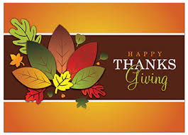 thanksgiving wishes messages to client business custom greeting card