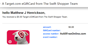 send gift cards by email send target gift card by email how to make money just sitting at